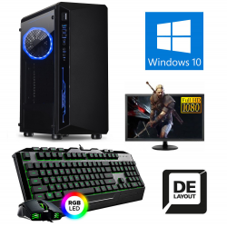 GAMER KOMPLETT SET PC AMD...